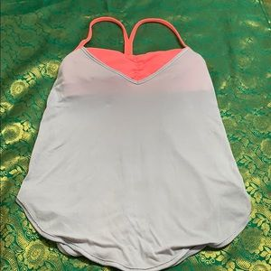 Lululemon tank top build in bra
